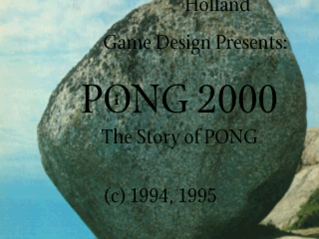 Ping 2000 atari screenshot